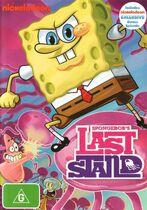 SpongeBob's Last Stand original Australian DVD