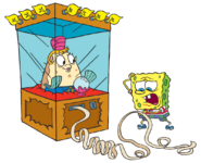 SpongeBob-Mrs-Puff-fortune-teller-shaded-stock-art