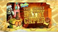 SpongeBob SquarePants Goodbye Krabby Patty Asian Promo No3 - Krabby Patty Games