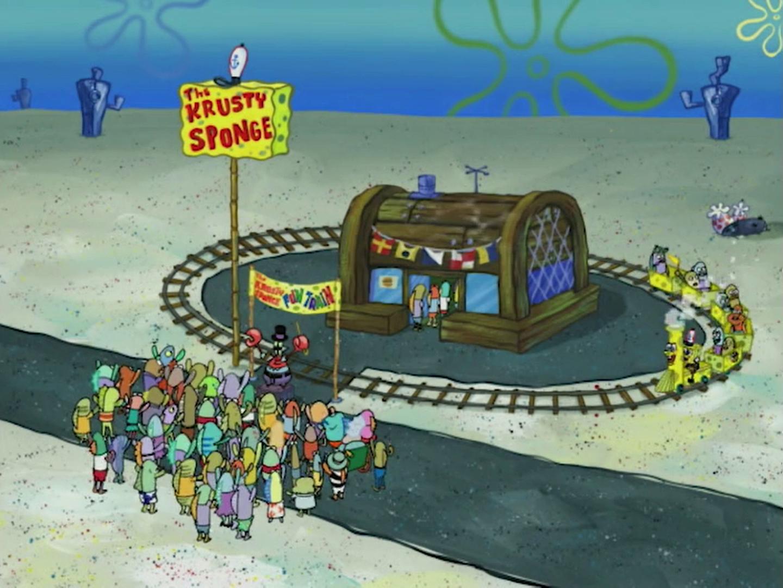 Krusty Sponge