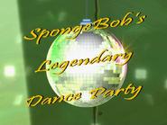 SpongeBob's Legendary Dance Party (short)