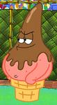 Patrick as an Ice Cream Cone