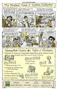 SpongeBob Comics No. 1 Contents