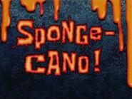 Sponge-Cano! title card