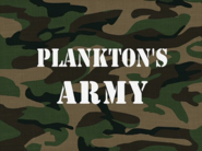 Planktons Army title card