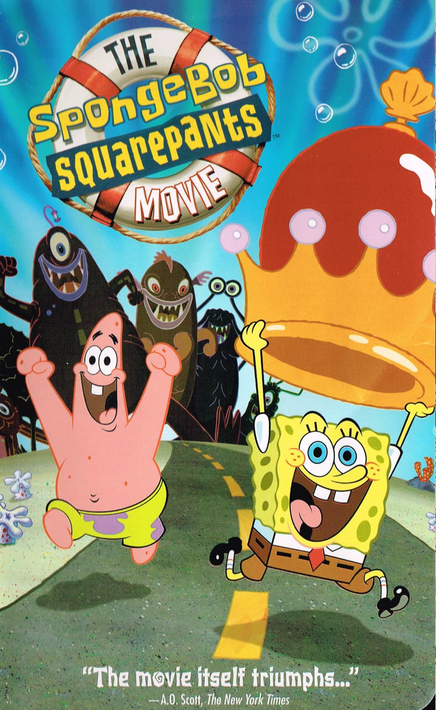 The SpongeBob SquarePants Movie (VHS)