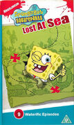 SpongeBob Lost at Sea UK VHS