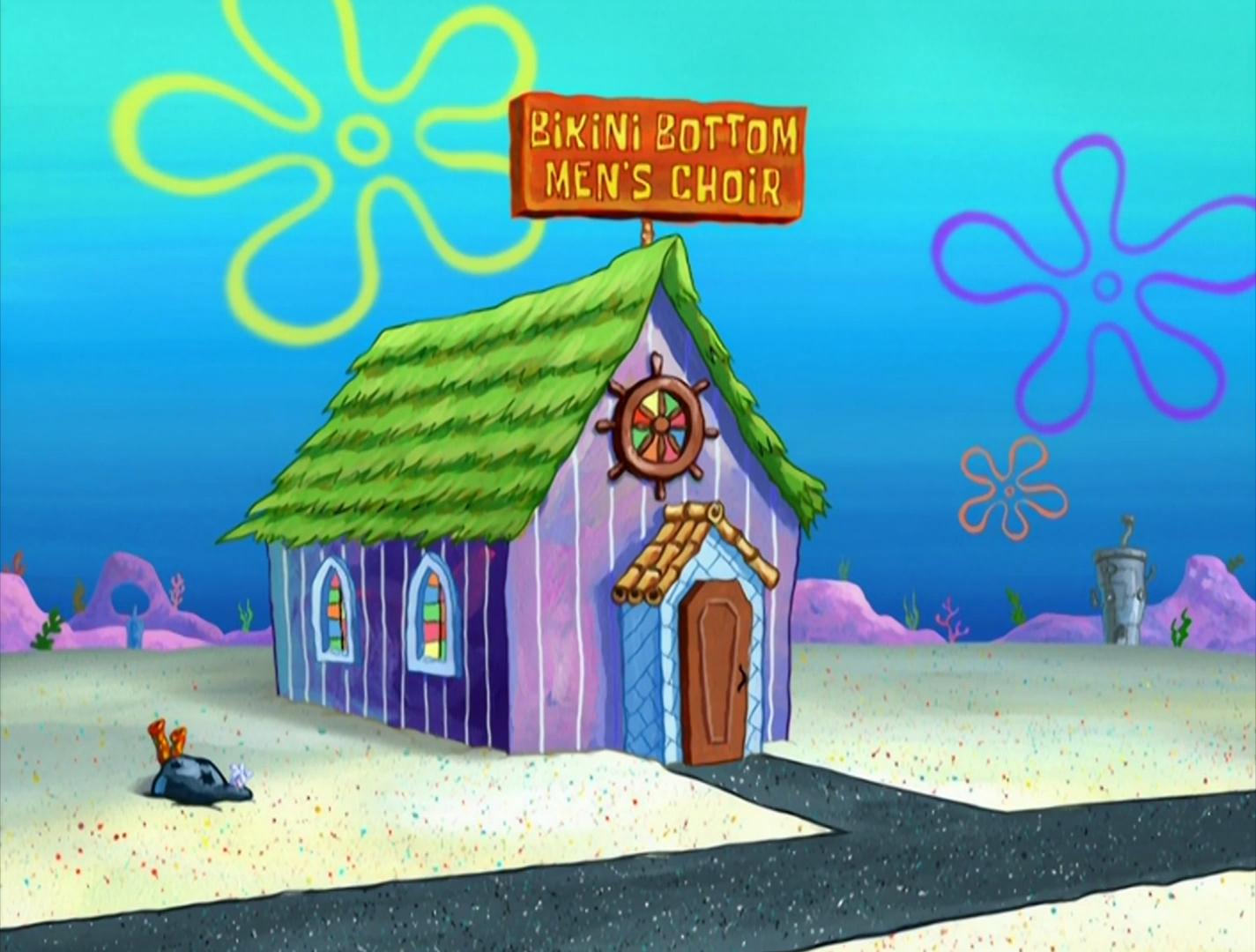 Bikini Bottom Men's Choir Studio