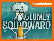Glumly Squidward