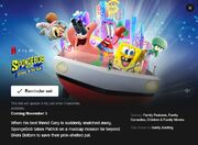 Sponge on the run Netflix Infobox