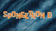 SpongeTron D title card by Egor