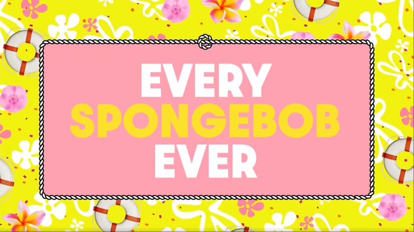 Every SpongeBob Ever