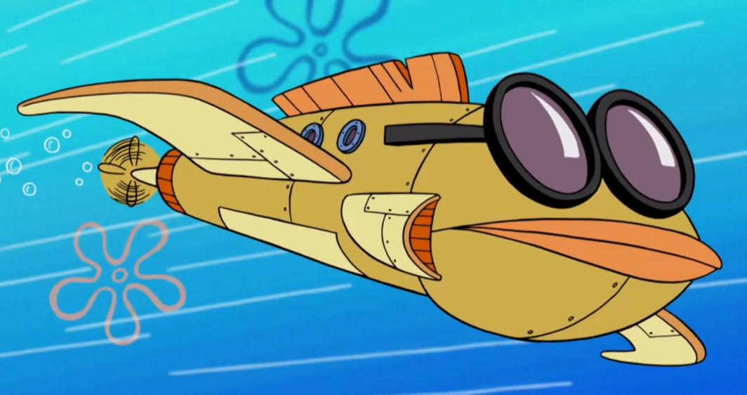 Bubble Bass' plane