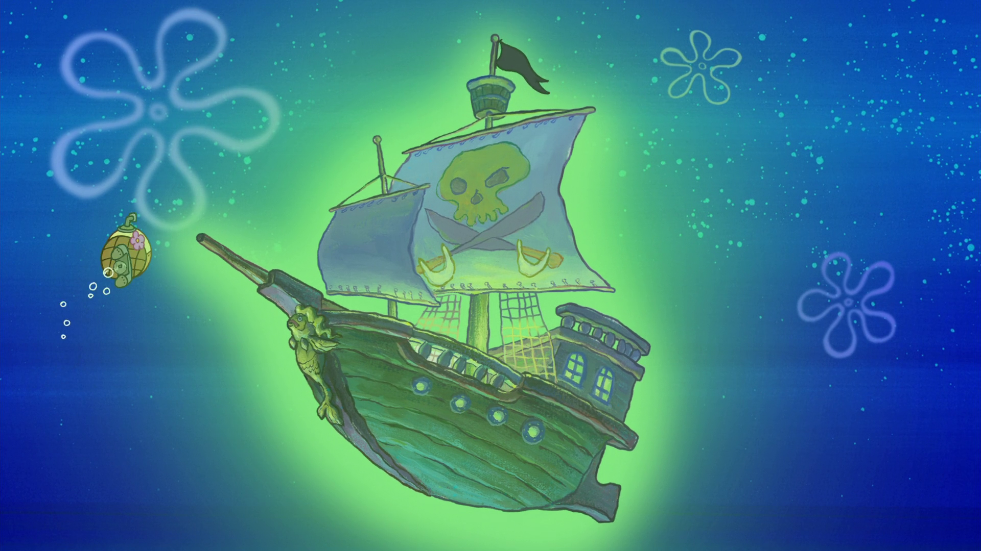 Flying Dutchman's ship