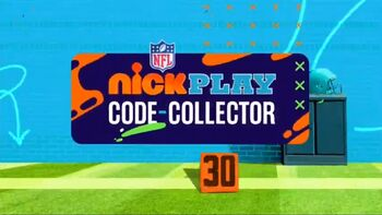 NFL Nick Play Code-Collector
