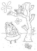 Mrs-Puff-and-snail-coloring-page