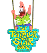 The Patrick Star Show logo with Patrick