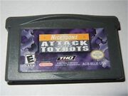 GBA pack of Nicktoons: Attack of the Toybots