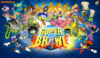 Normal title screen