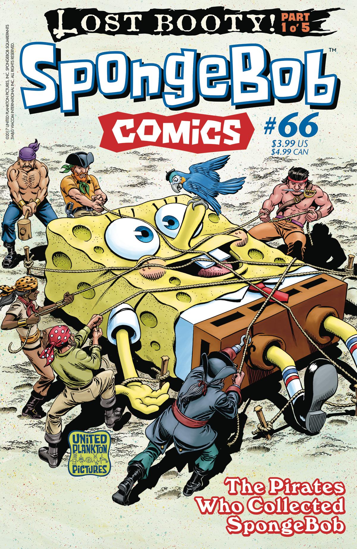 SpongeBob Comics No. 66