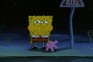 Candy Glove SpongeBob Eating