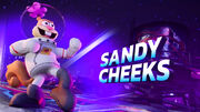 Sandy Cheeks splash screen
