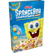 Kelloggs SpongeBob Movie Sponge on the run cereal