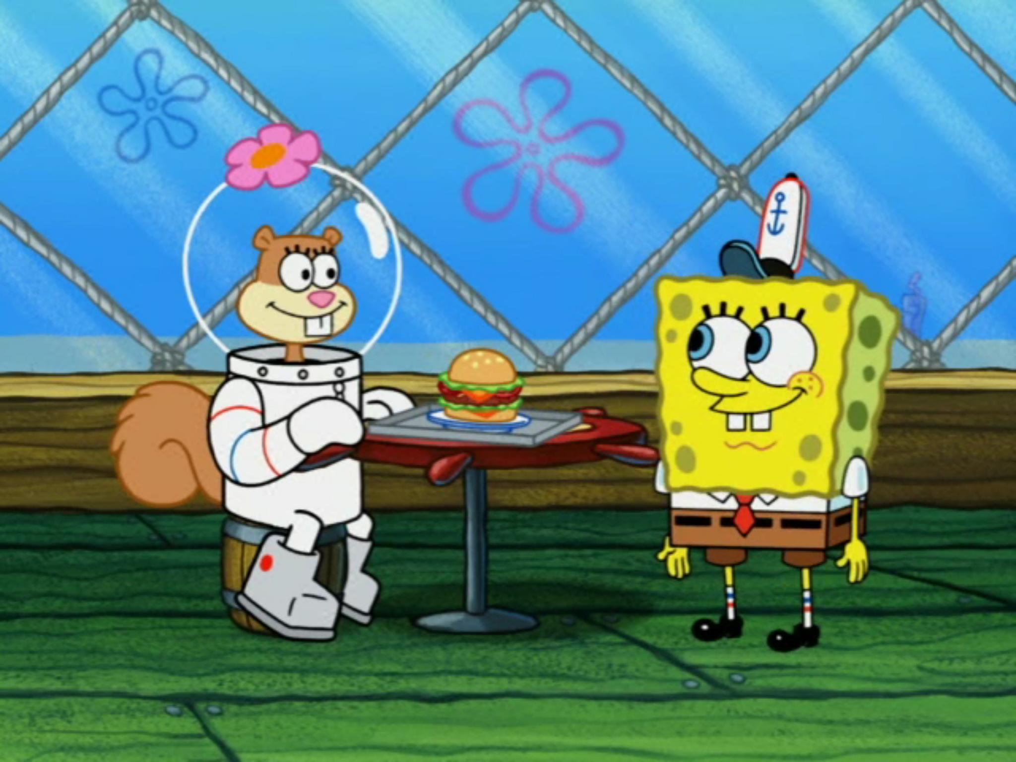 Sandy spongebob and How SpongeBob