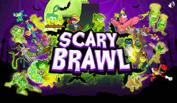 Halloween title screen