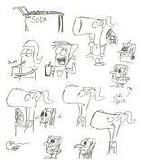 SpongeBob-Pearl-comic-sketches