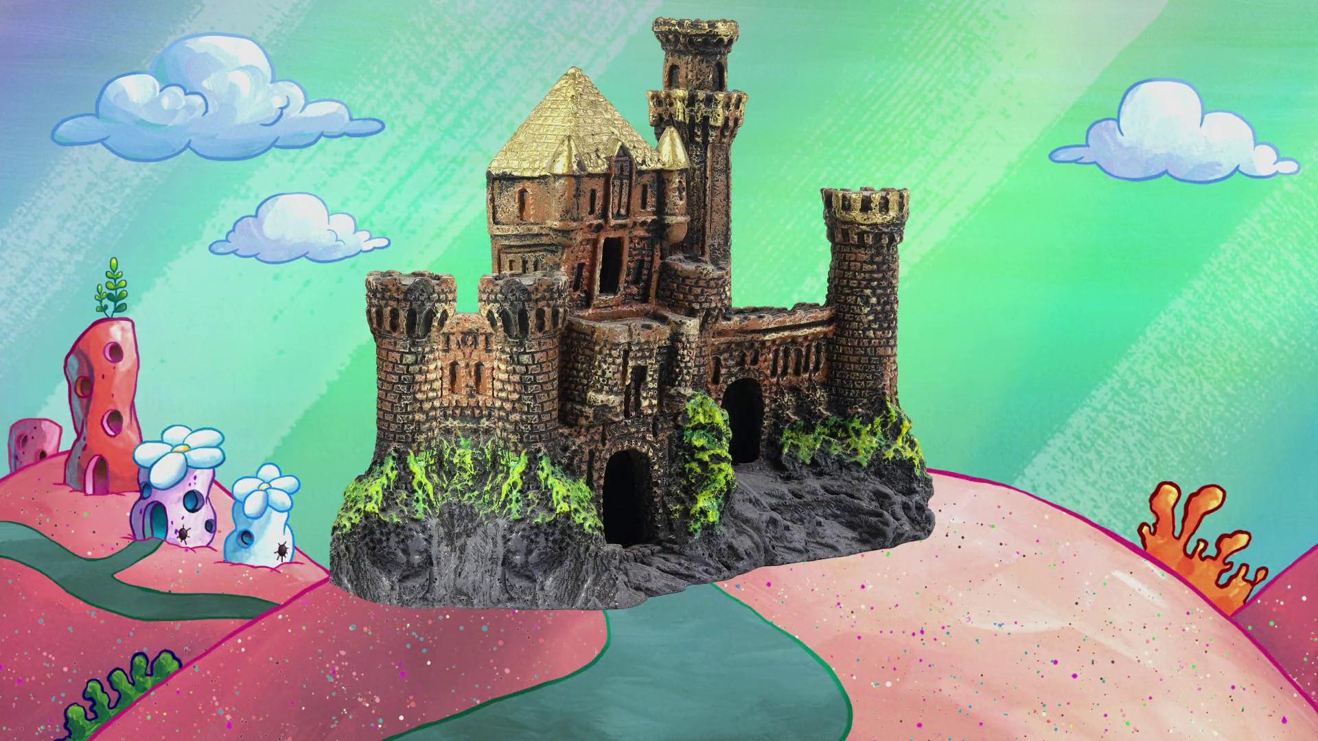King Plankton's castle