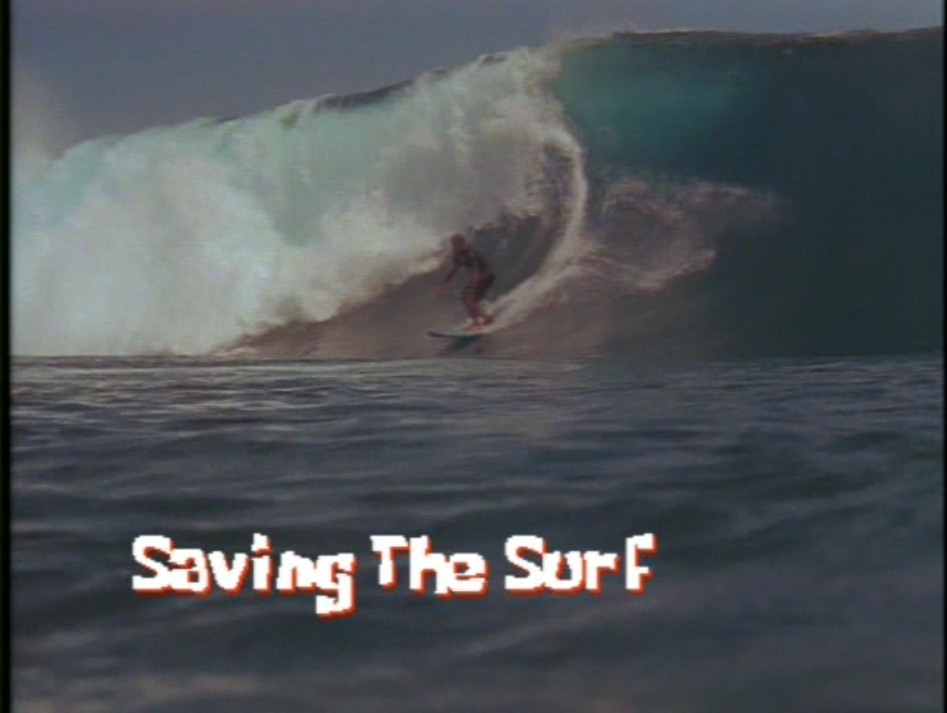 Saving the Surf