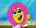 SpongeBob Flower 1