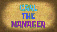 CarlTheManager title card by Egor