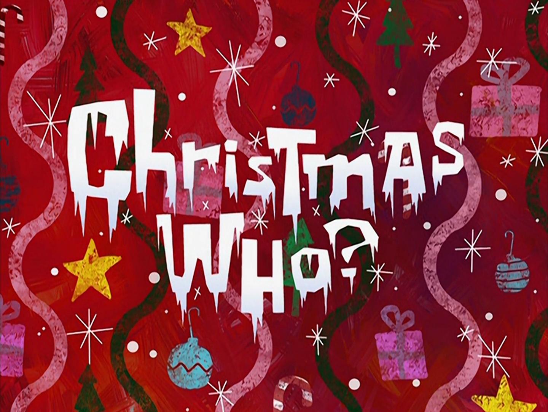 Christmas Who?/transcript