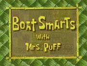 Boat Smarts 001