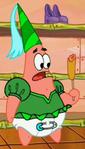Patrick as a Diaper Princess