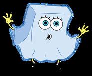 SpongeBob as a ghost stock art