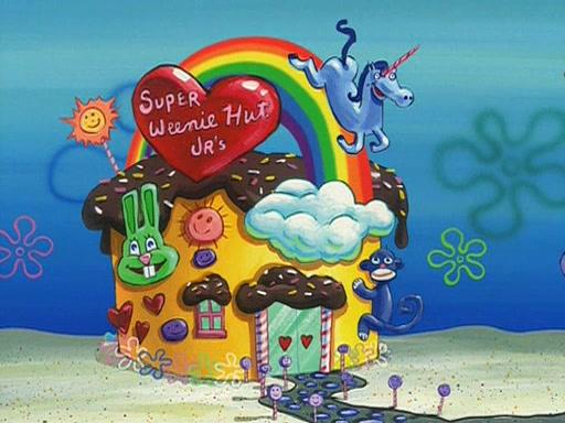 Super Weenie Hut Jr's (Old design)