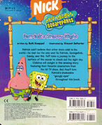 Patrick's Starry Night back cover