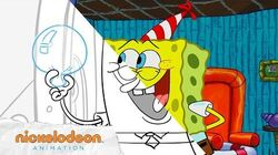 Spongebob birthday Large Spongebob Squarepants centerpiece without a container