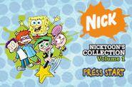 Nicktoons Collection Vol.1 Menu 1