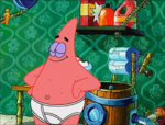 Patrick in his Underwear