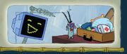 Plankton and Karen in Runaway Roadtrip 1