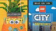SpongeBob and LEGO City Adventures June 2019 promo commercial - Nickelodeon-0