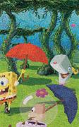 Spongebob-pearl-painting