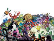SpongeBob Freestyle Funnies 2018 full cover design