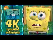 -4K AI-Upscaled- SpongeBob's Truth or Square - All FMV Cutscenes