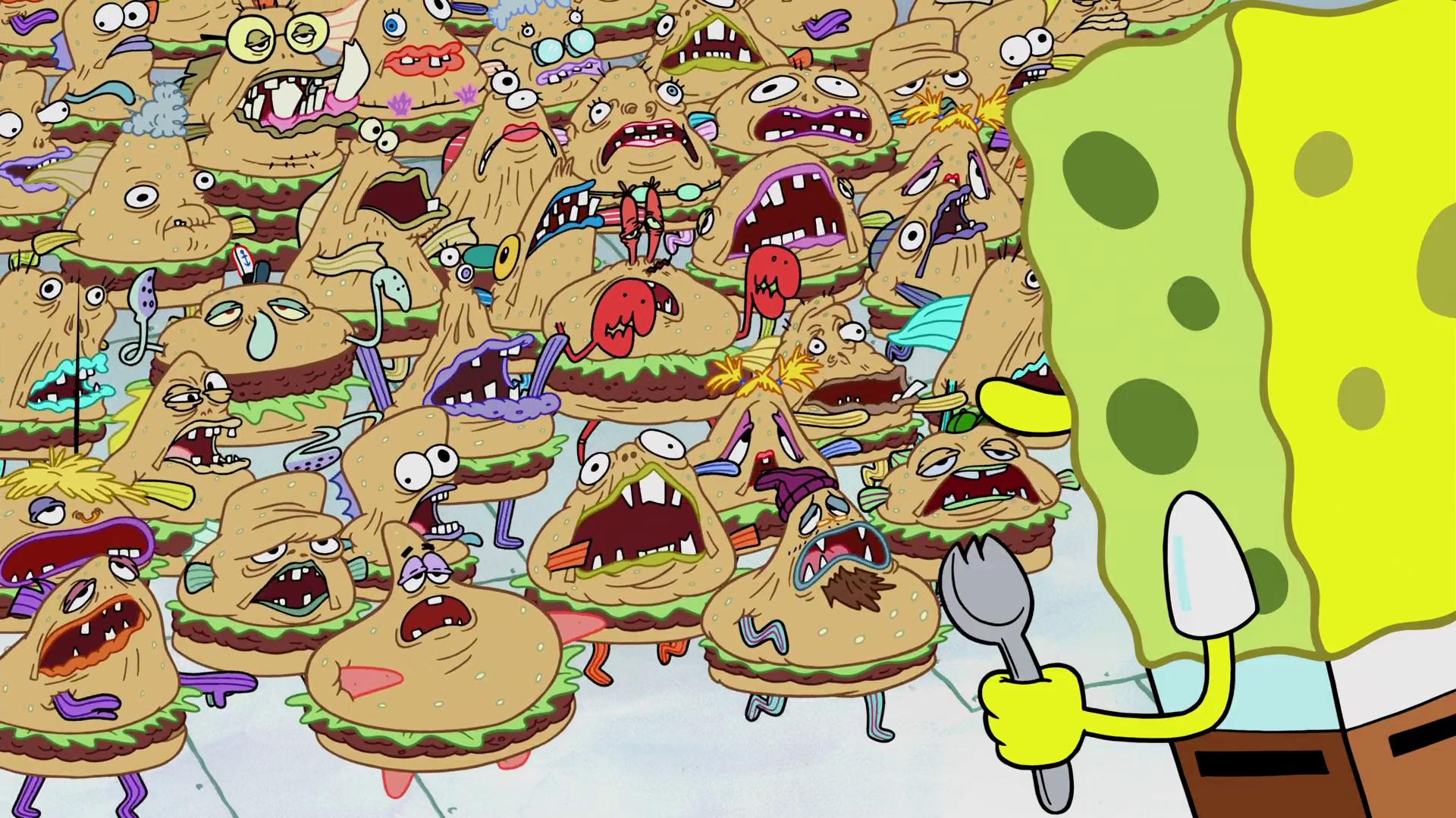 Krabby Patty creatures