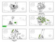 SpongeBob Movie 3 storyboard - Mrs. Puff
